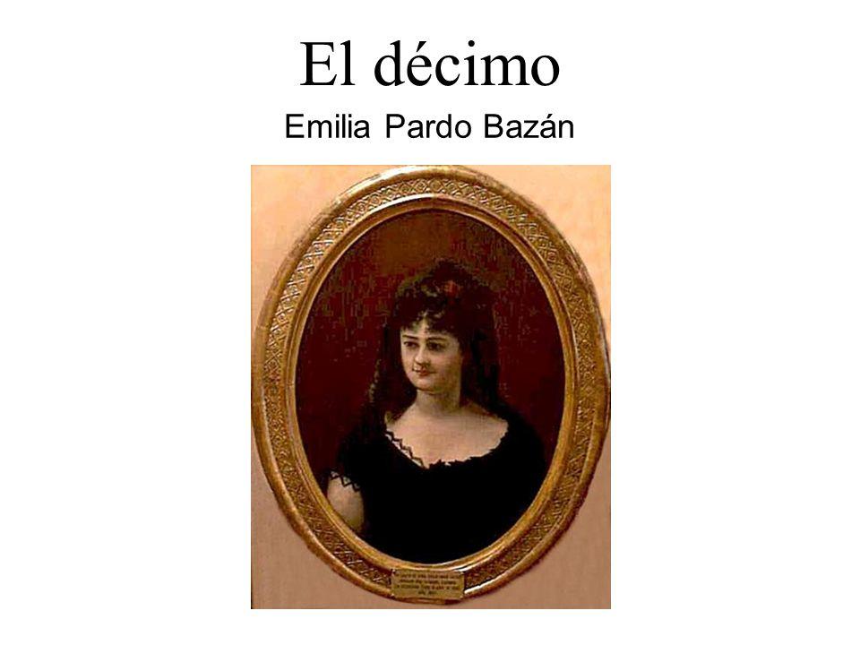 El décimo Emilia Pardo Bazán