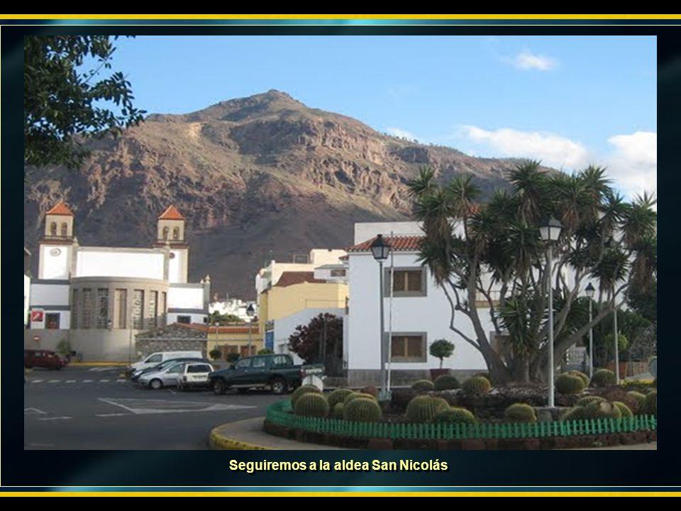 Seguiremos a la aldea San Nicolás