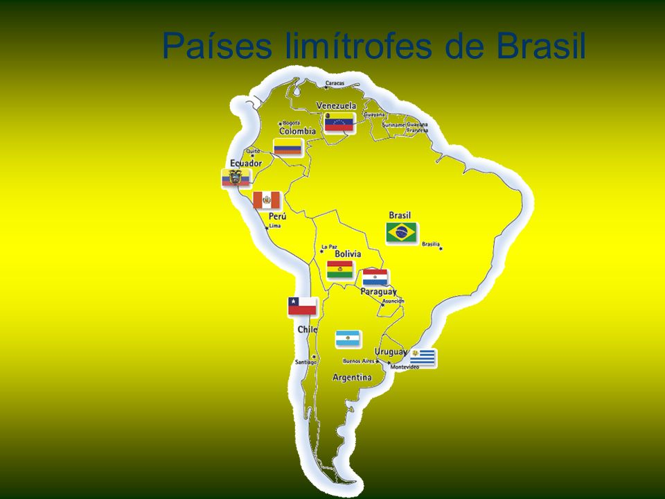 Países limítrofes de Brasil