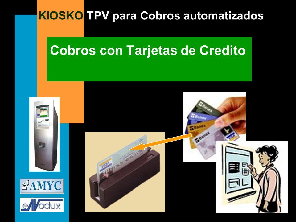 Cobros con Tarjetas de Credito
