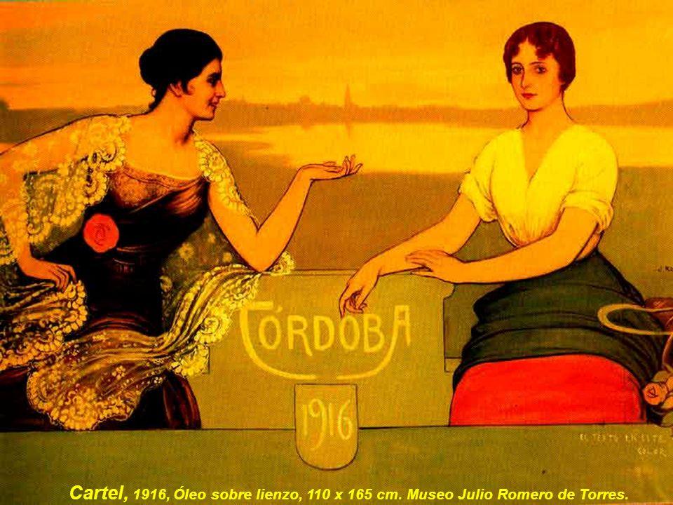 Cartel, 1916, Óleo sobre lienzo, 110 x 165 cm