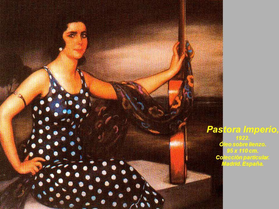 Pastora Imperio, 1922. Óleo sobre lienzo. 95 x 110 cm.