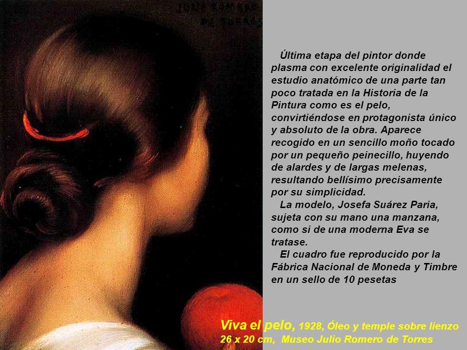 Viva el pelo, 1928, Óleo y temple sobre lienzo
