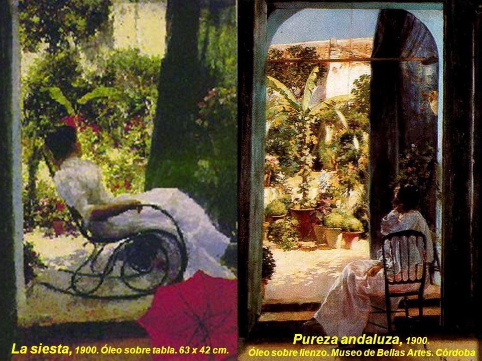 Óleo sobre lienzo. Museo de Bellas Artes. Córdoba