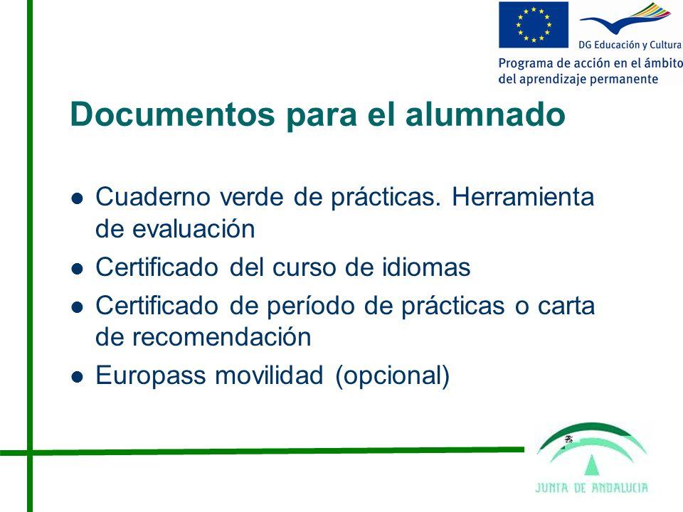 Documentos para el alumnado