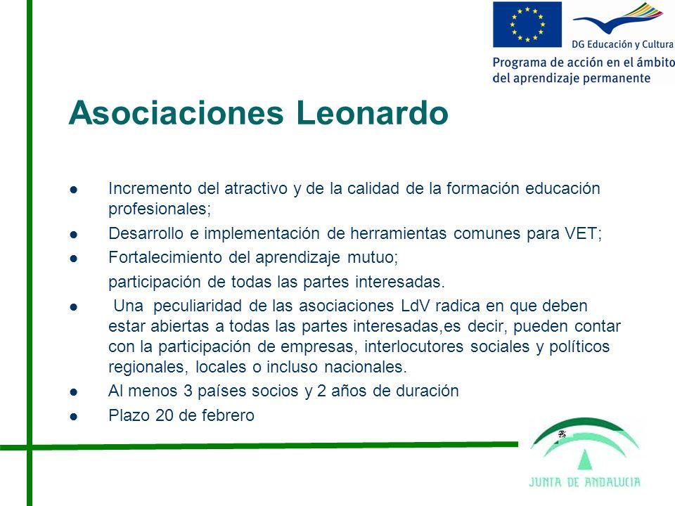 Asociaciones Leonardo