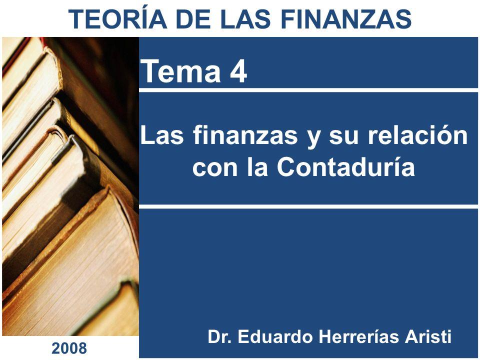 Las finanzas y su relación con la Contaduría