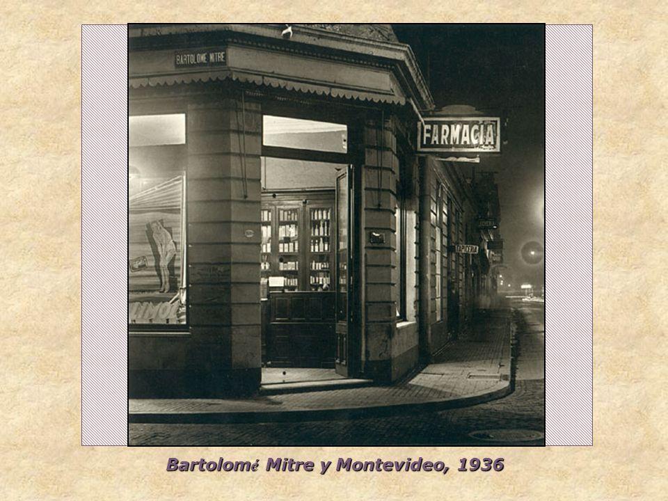 Bartolomé Mitre y Montevideo, 1936