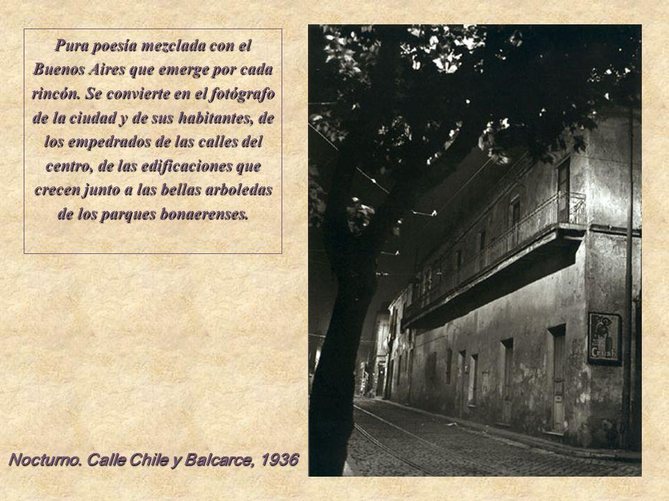 Pura poesía mezclada con el Buenos Aires que emerge por cada rincón