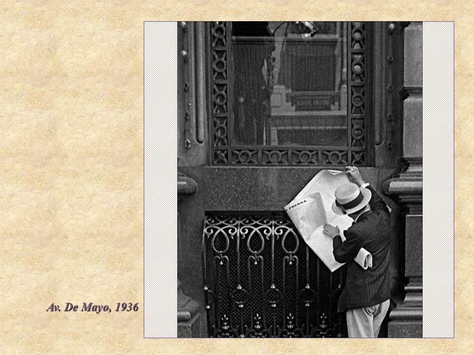 Av. De Mayo, 1936
