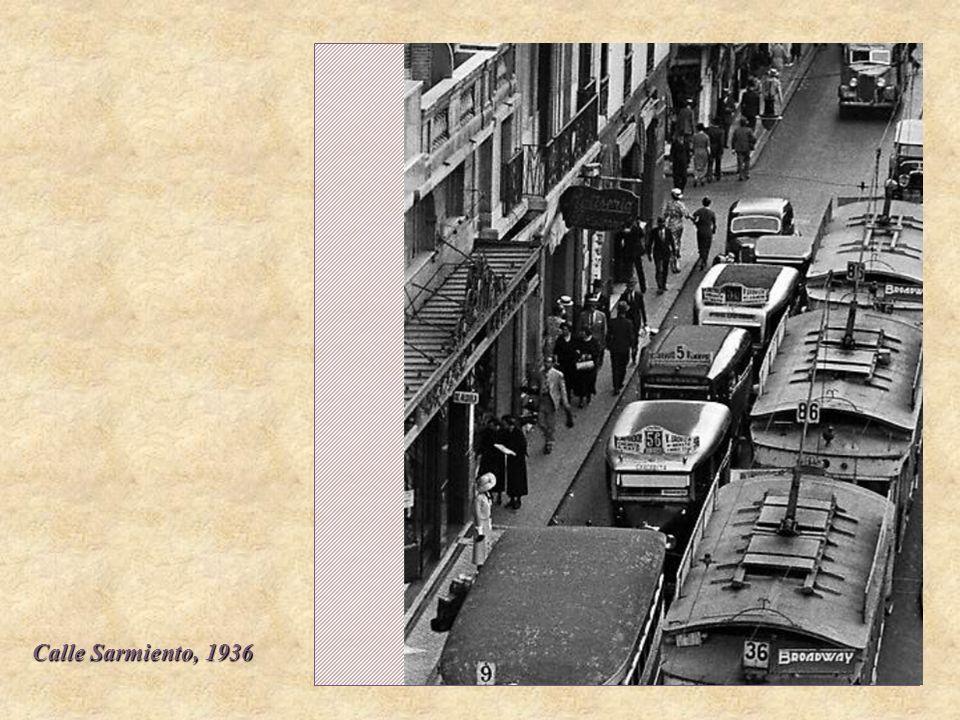 Calle Sarmiento, 1936