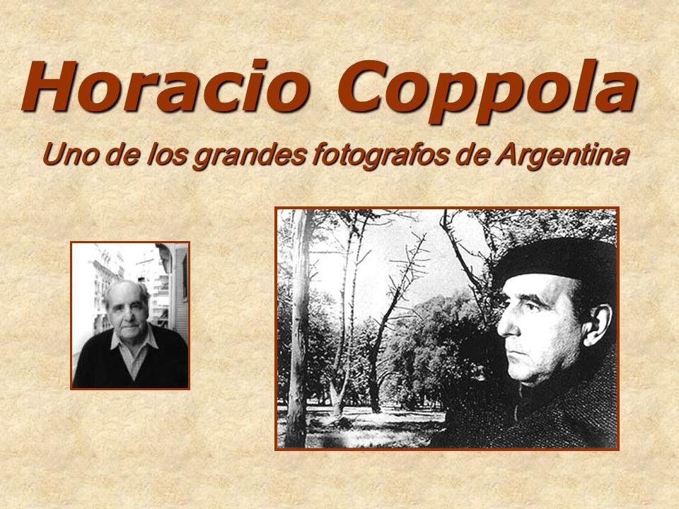 Uno de los grandes fotografos de Argentina