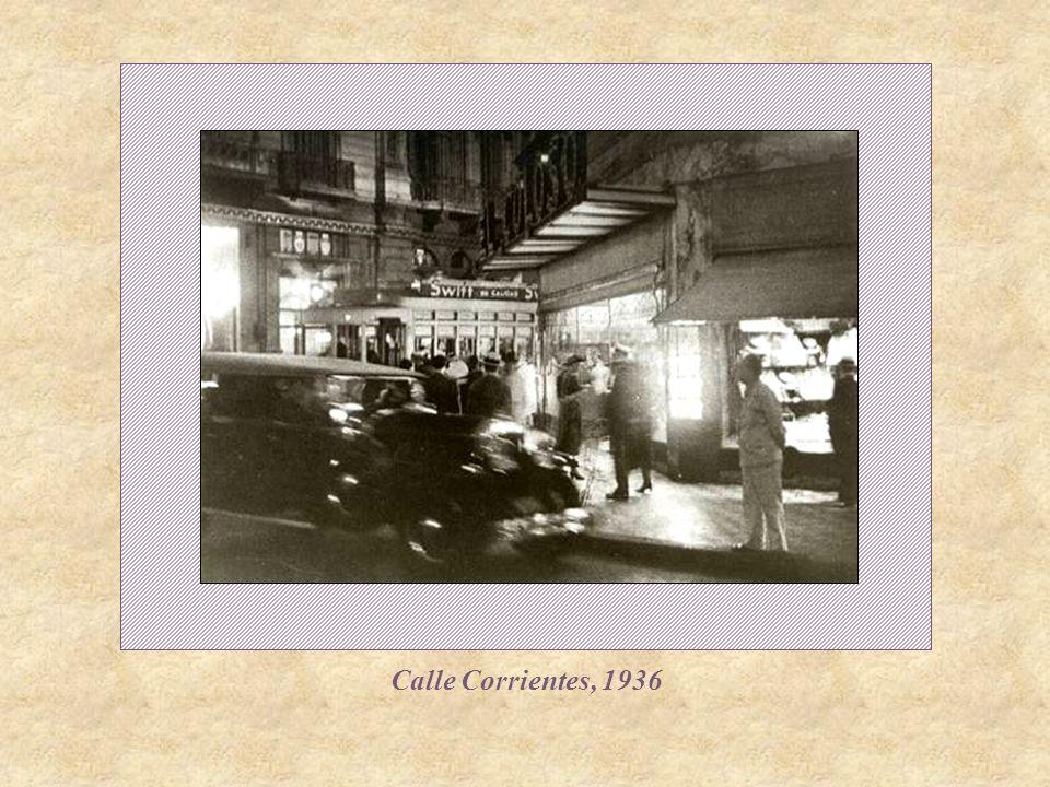 Calle Corrientes, 1936