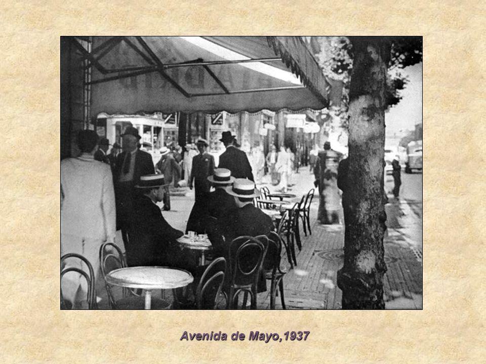 Avenida de Mayo,1937