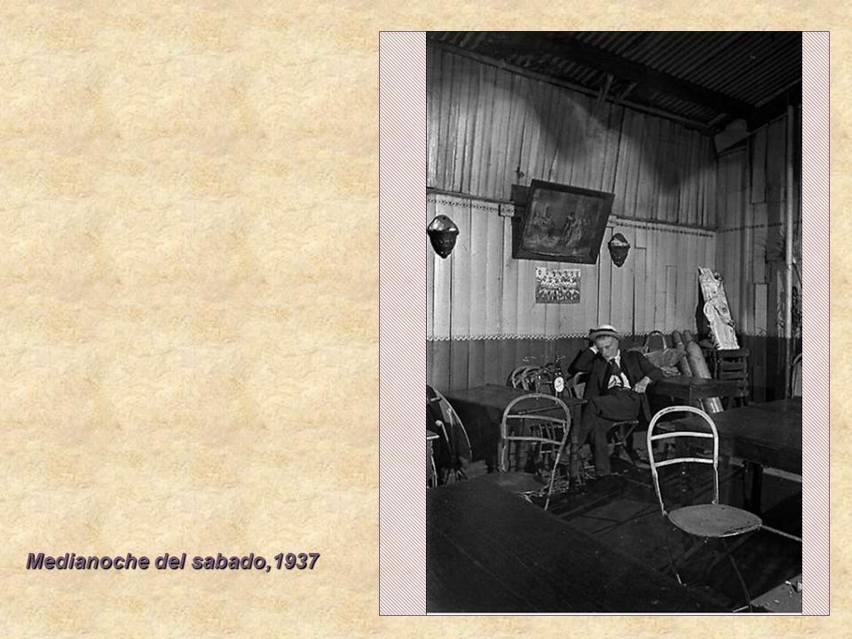Medianoche del sabado,1937
