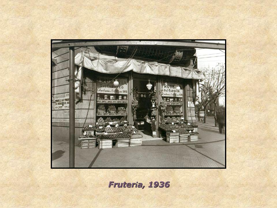 Frutería, 1936