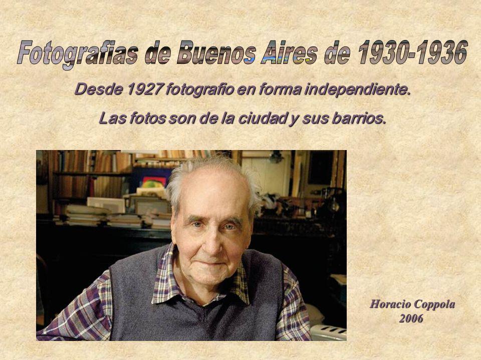 Fotografias de Buenos Aires de 1930-1936