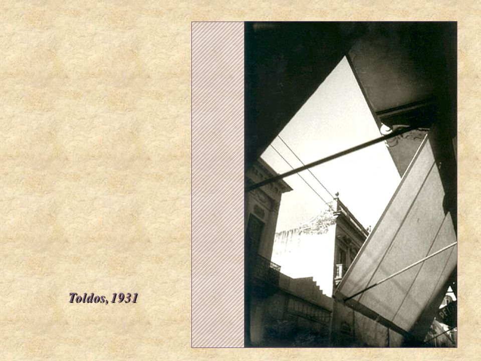 Toldos, 1931