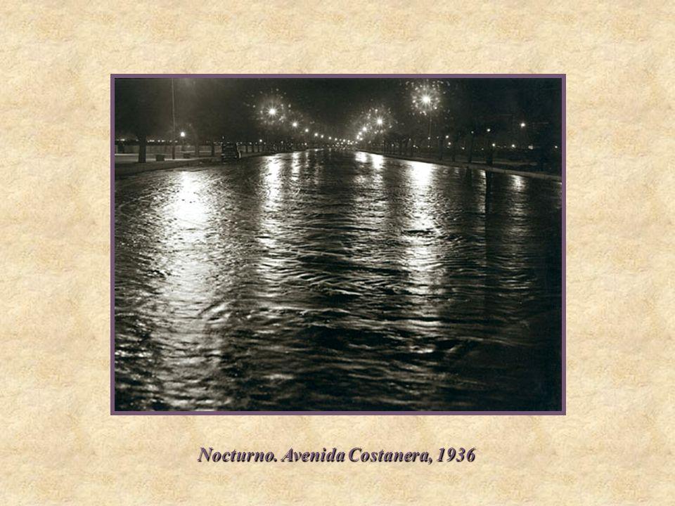 Nocturno. Avenida Costanera, 1936