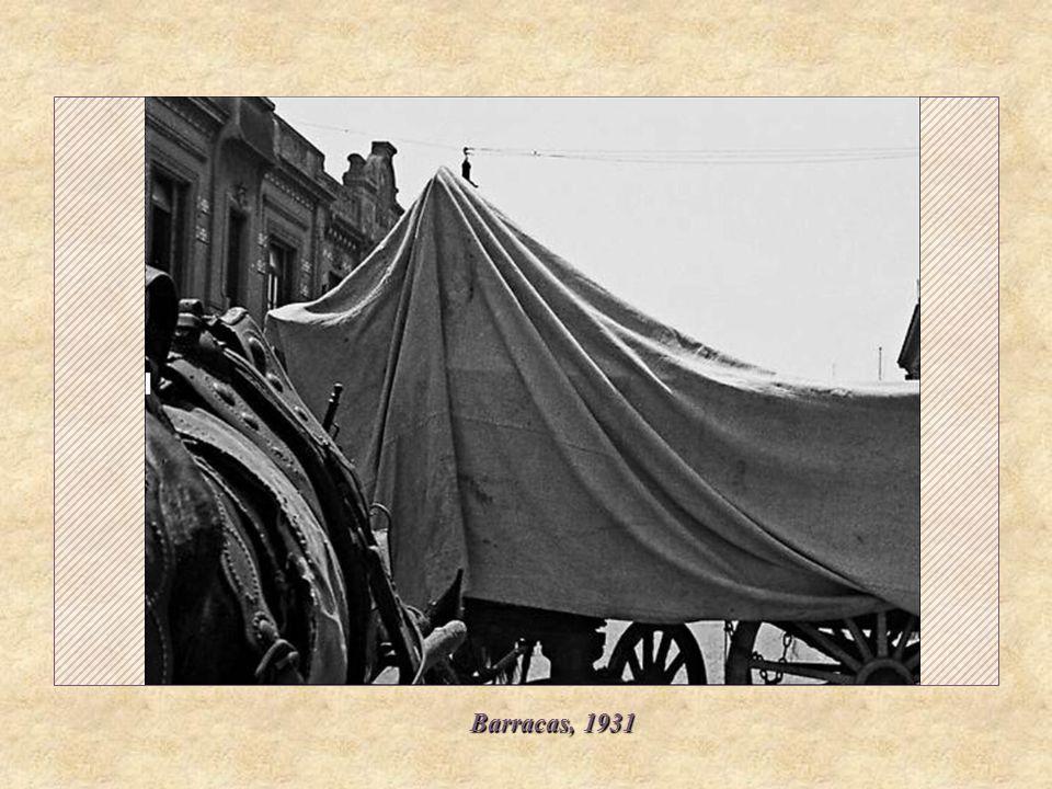 Barracas, 1931