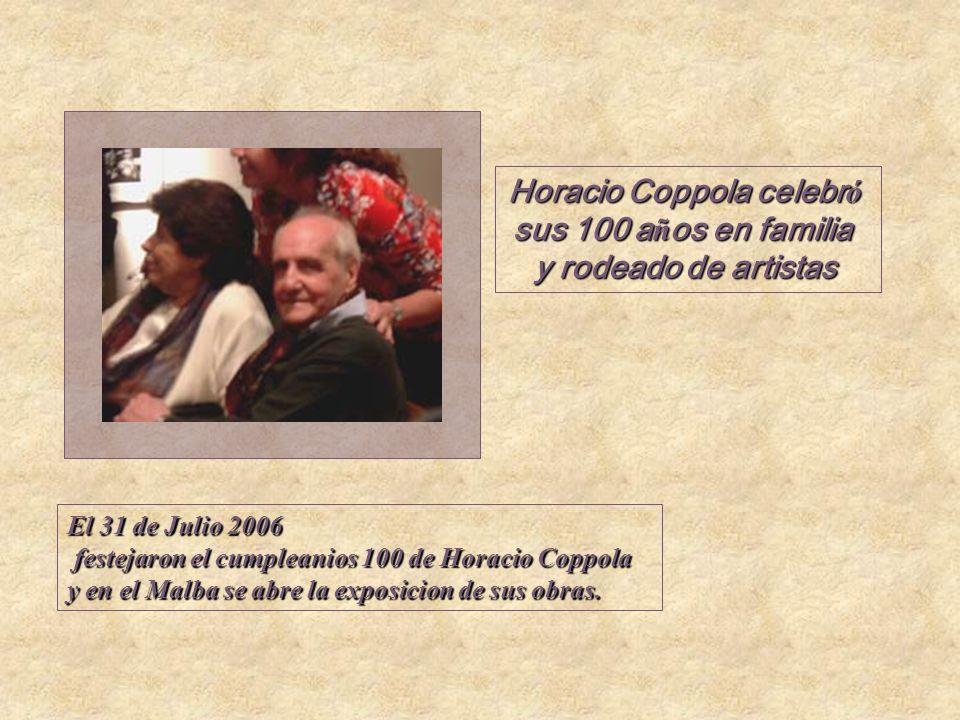 Horacio Coppola celebró sus 100 años en familia
