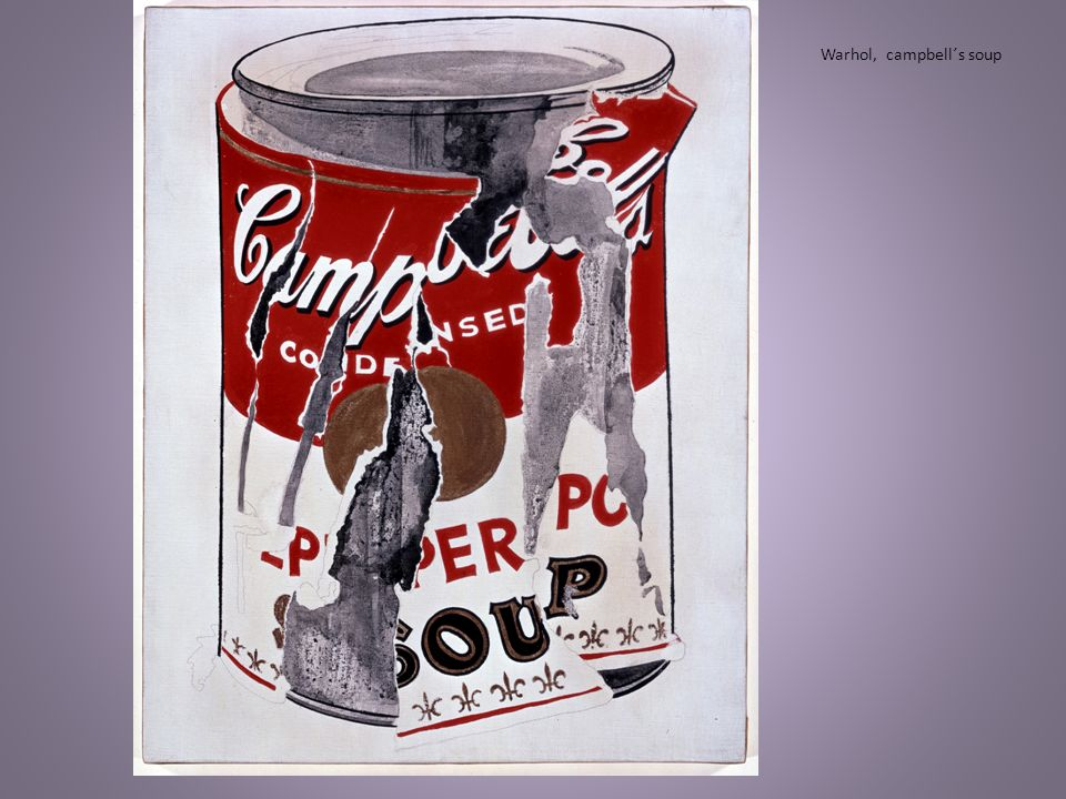 Warhol, campbell´s soup
