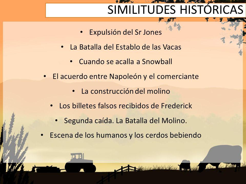 SIMILITUDES HISTÓRICAS