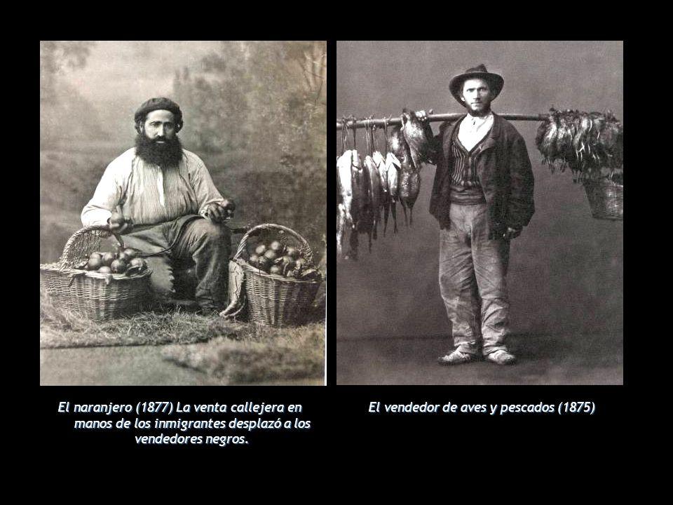 El vendedor de aves y pescados (1875)
