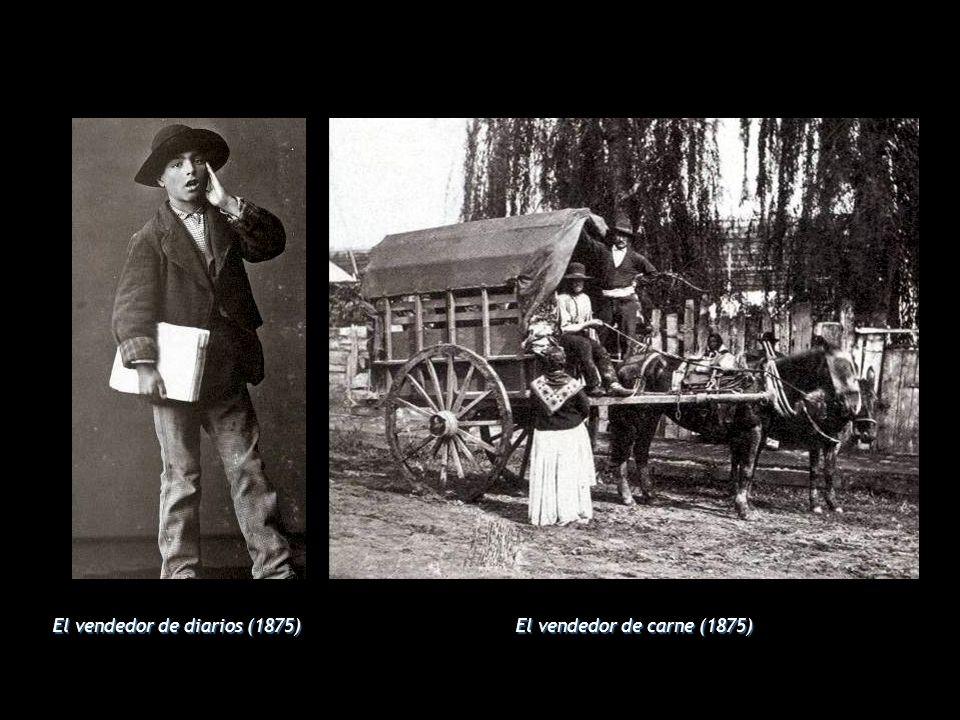 El vendedor de diarios (1875)