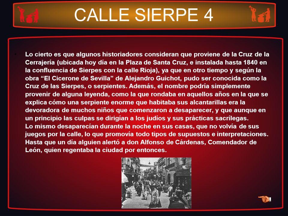 CALLE SIERPE 4