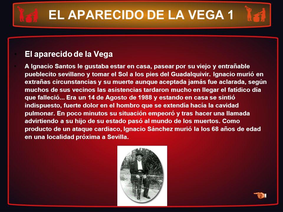 EL APARECIDO DE LA VEGA 1 El aparecido de la Vega