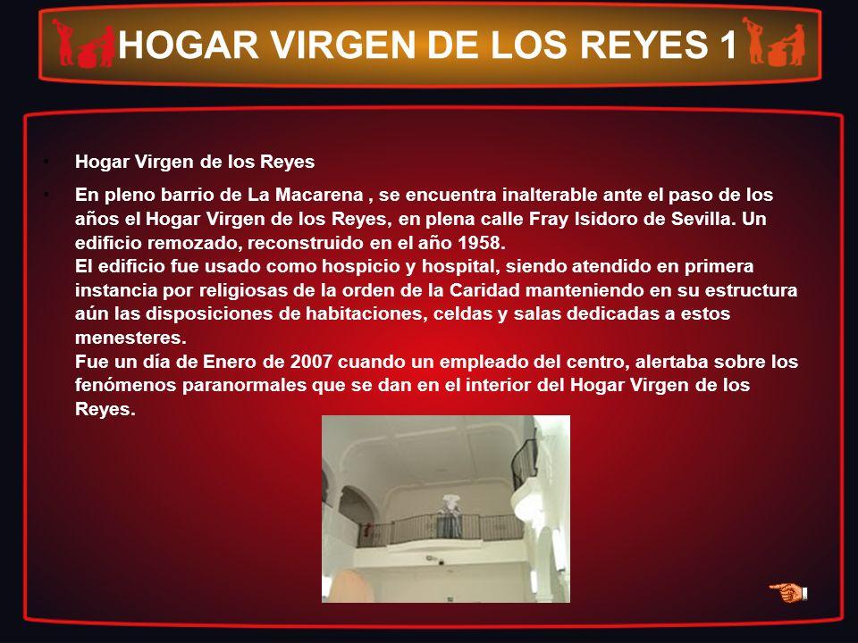 HOGAR VIRGEN DE LOS REYES 1