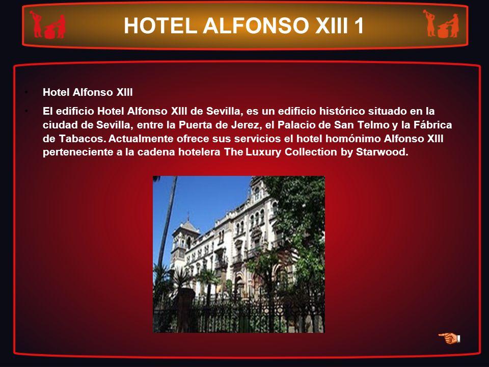HOTEL ALFONSO XIII 1 Hotel Alfonso XIII