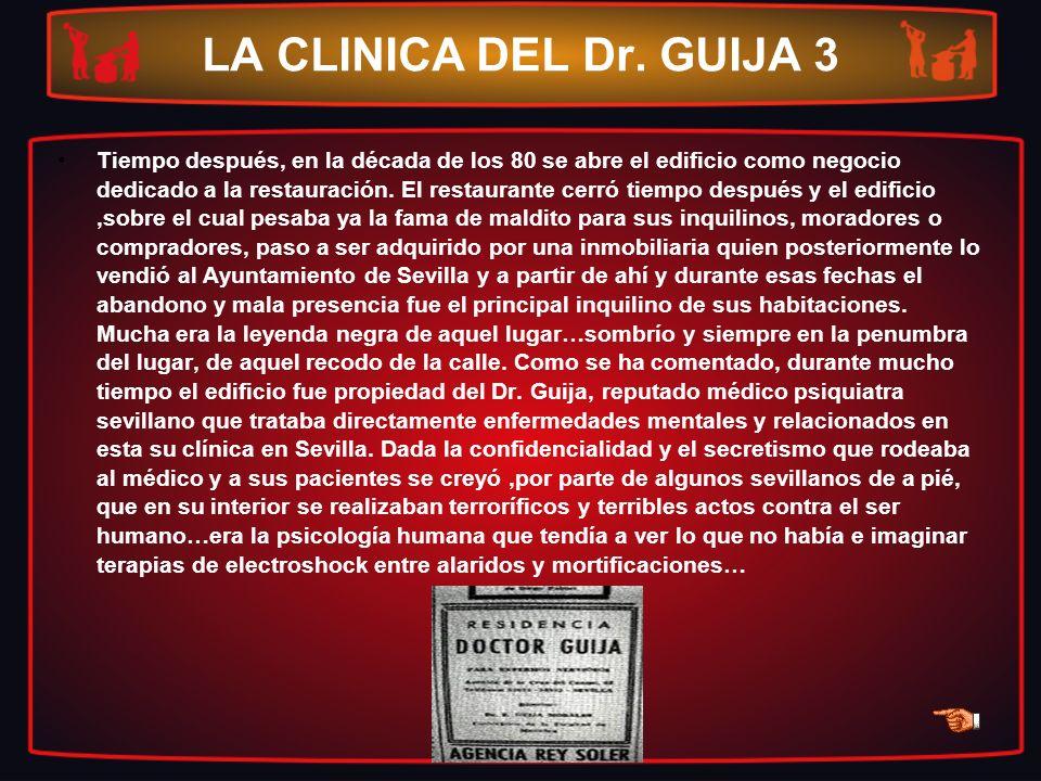 LA CLINICA DEL Dr. GUIJA 3