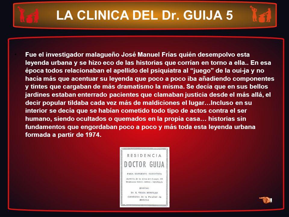 LA CLINICA DEL Dr. GUIJA 5