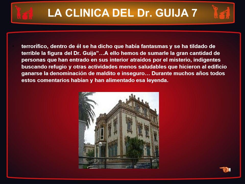LA CLINICA DEL Dr. GUIJA 7