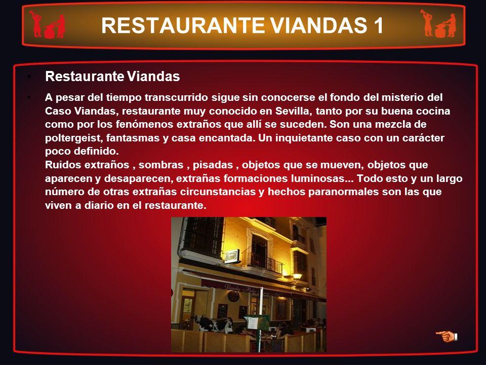 RESTAURANTE VIANDAS 1 Restaurante Viandas