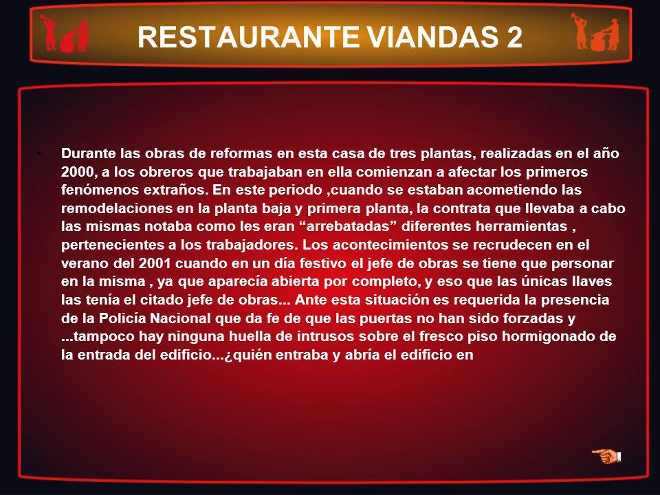 RESTAURANTE VIANDAS 2