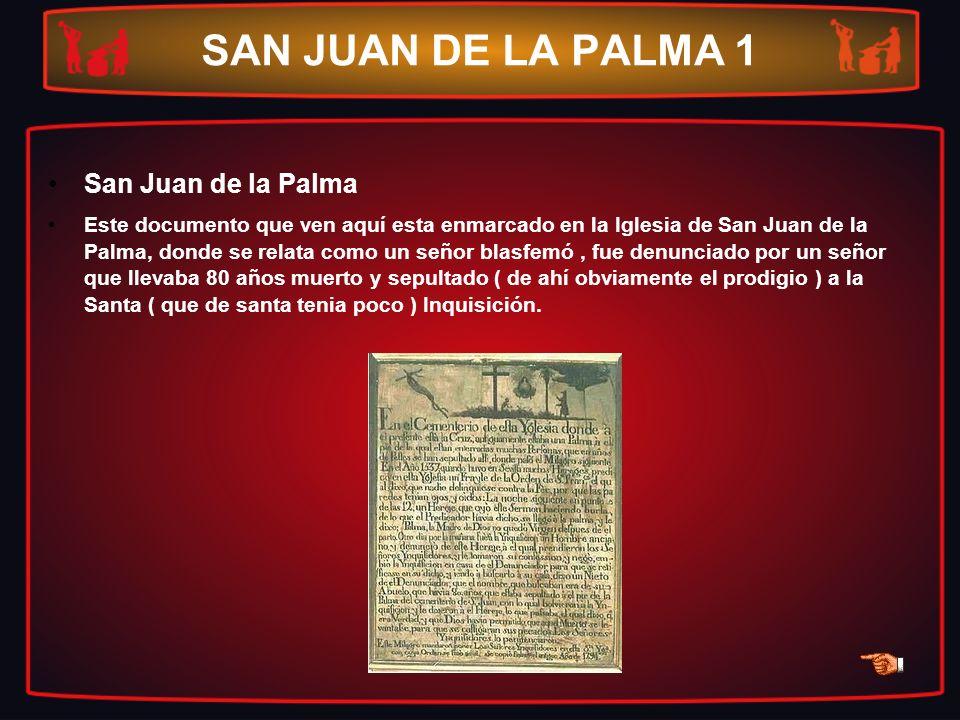 SAN JUAN DE LA PALMA 1 San Juan de la Palma