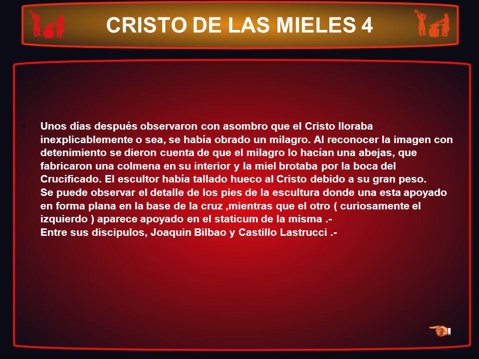 CRISTO DE LAS MIELES 4