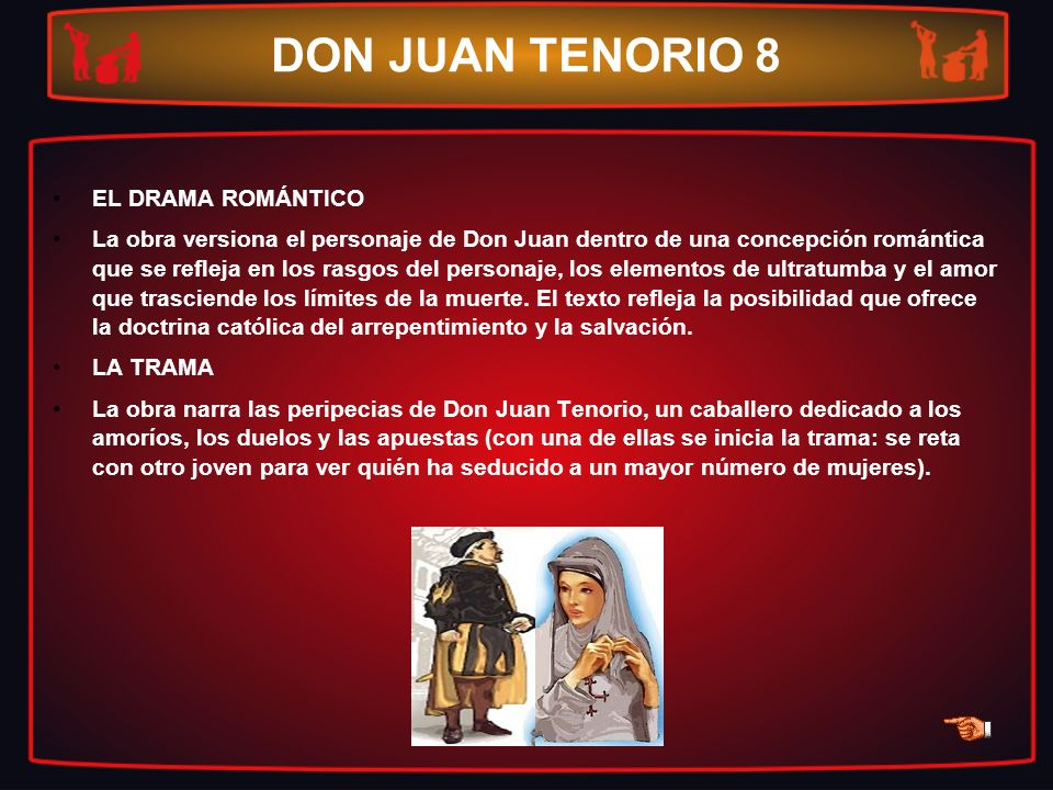DON JUAN TENORIO 8 EL DRAMA ROMÁNTICO