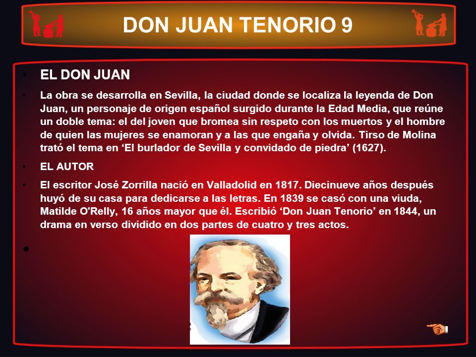 DON JUAN TENORIO 9 EL DON JUAN
