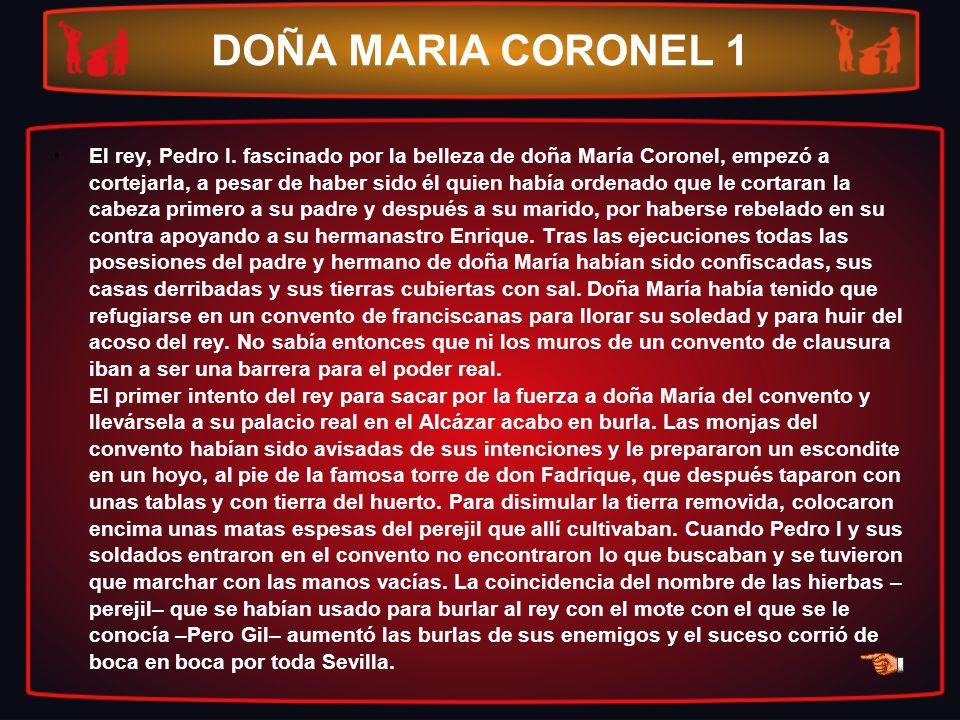 DOÑA MARIA CORONEL 1