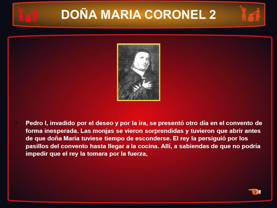 DOÑA MARIA CORONEL 2
