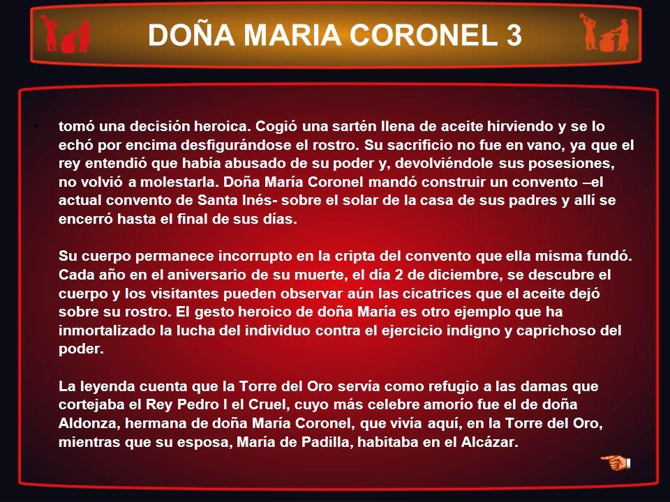 DOÑA MARIA CORONEL 3