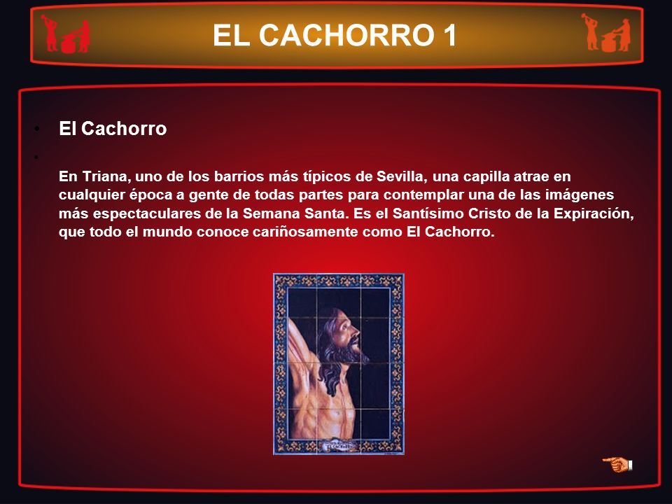 EL CACHORRO 1 El Cachorro