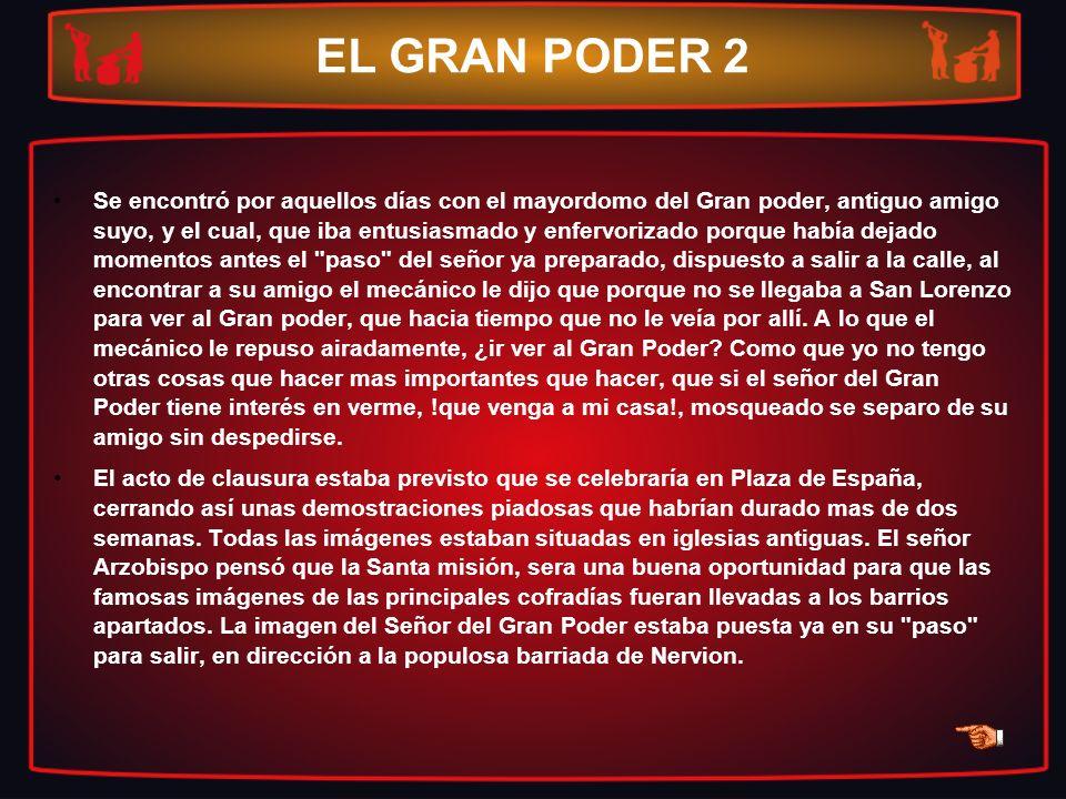 EL GRAN PODER 2