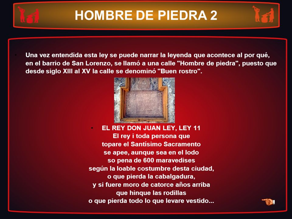 HOMBRE DE PIEDRA 2