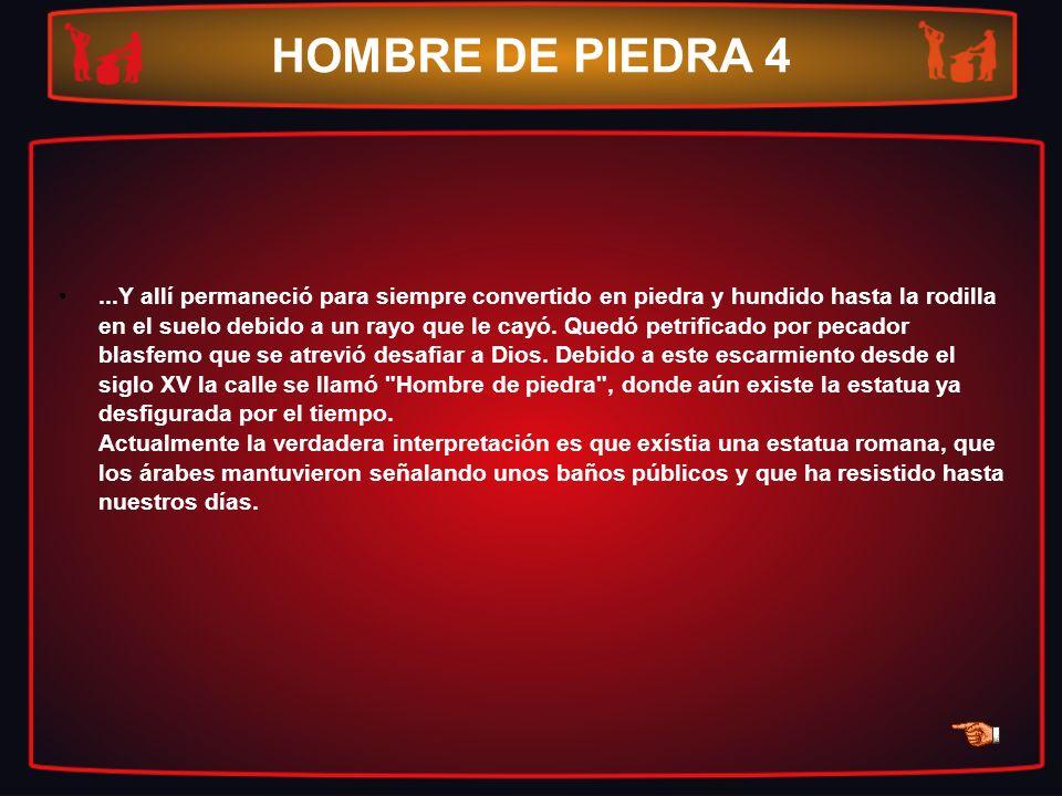 HOMBRE DE PIEDRA 4