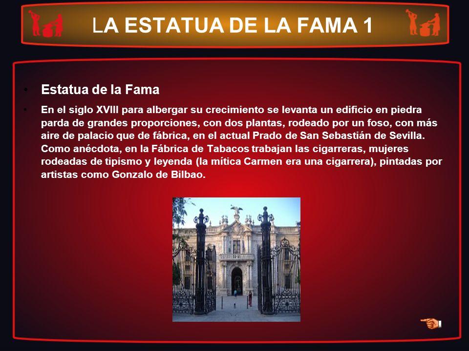 LA ESTATUA DE LA FAMA 1 Estatua de la Fama